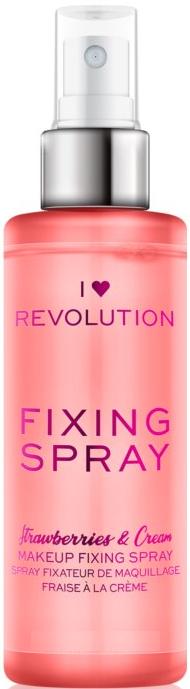 Spray fissaggio trucco - I Heart Revolution Fixing Spray Strawberries & Cream