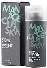 Profumi e cosmetici Peeling gel per viso e corpo - Dr. Spiller Manage Your Skin Gentle Face & Body Peeling Gel