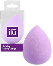 Profumi e cosmetici Spugna trucco, goccia, viola - Ilu Sponge Raindrop Purple