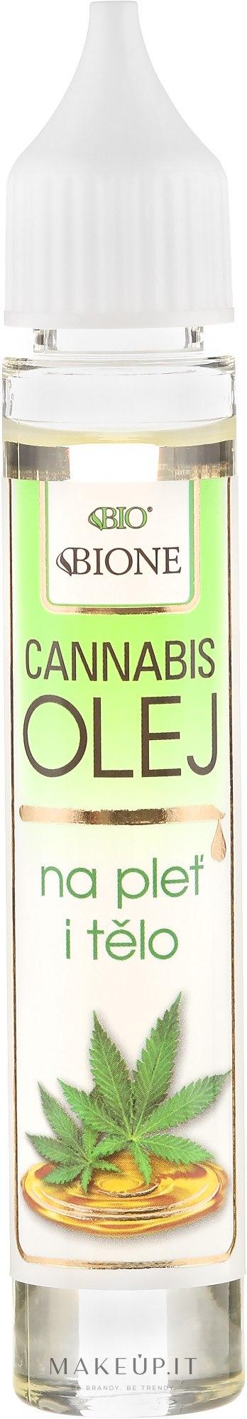 """Olio viso e corpo """"Canapa"""" - Bione Cosmetics Cannabis Face and Body Oil — foto 30 ml"""