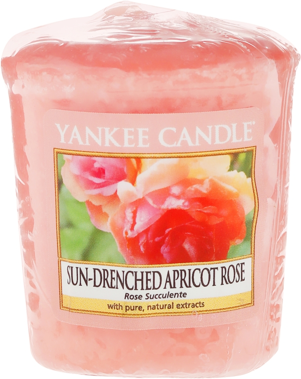 "Candela profumata ""Rose"" - Yankee Candle Scented Votive Rose"