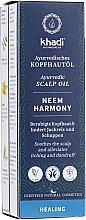 Profumi e cosmetici Olio ayurvedico per il cuoio capelluto - Khadi Ayurvedic Scalp Oil Neem Harmony