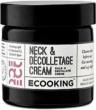 Profumi e cosmetici Crema collo e décolleté - Ecooking Neck & Decolletage Cream