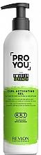 Profumi e cosmetici Gel attivatore per capelli ricci - Revlon Professional Pro You The Twister Scrunch Curl Activator Gel
