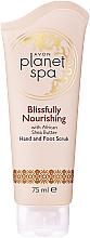 Profumi e cosmetici Scrub nutriente con burro di karitè per mani e piedi - Avon Planet Spa Scrub