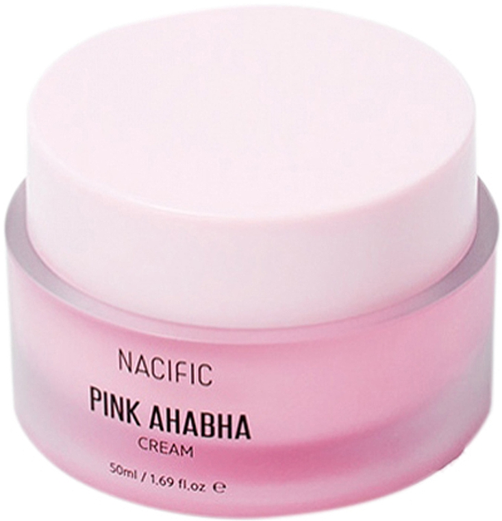 Crema viso con estratto di anguria, acidi ANA e BHA - Nacific Pink AHA BHA Cream