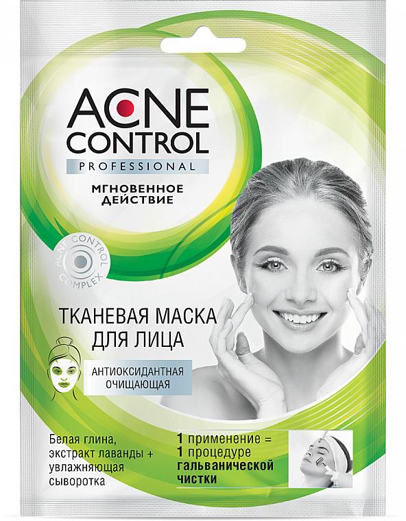 Maschera in tessuto purificante antiossidante - Fito Cosmetic Acne Control Professional