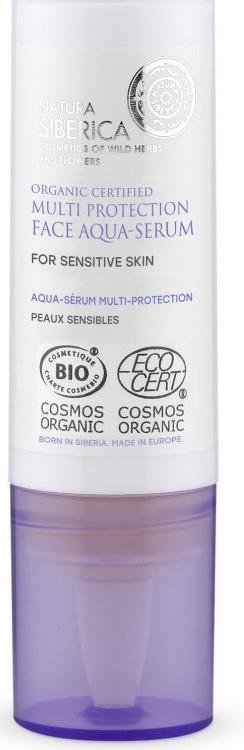 Acqua-siero viso - Natura Siberica Organic Certified Multi Protection Face Aqua-Serum — foto N1