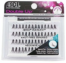 Profumi e cosmetici Ciglia finte - Ardell Double Up Soft Touch Knot- Free Medium Black