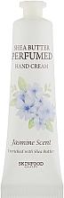 Profumi e cosmetici Crema mani - Skinfood Shea Butter Perfumed Hand Cream Jasmine Scent
