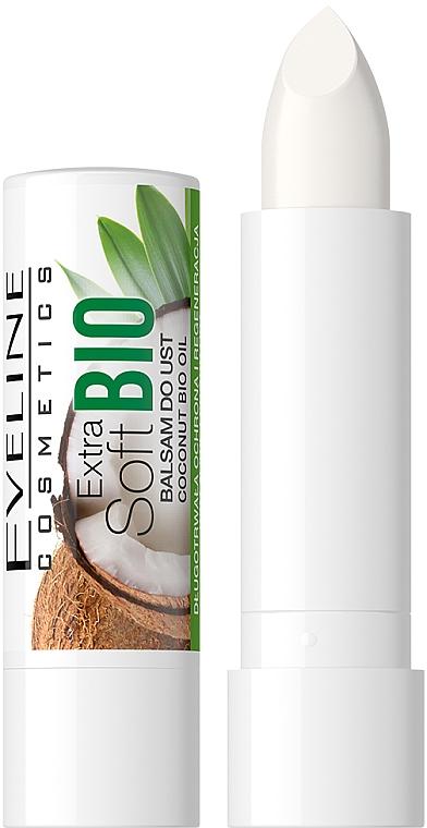 "Balsamo labbra ""Cocco"" - Eveline Cosmetics Extra Soft Bio Coconut Lip Balm"