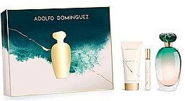 Profumi e cosmetici Adolfo Dominguez Unica - Set (edt/100ml + b/lot/75ml + edt/mini/10ml)