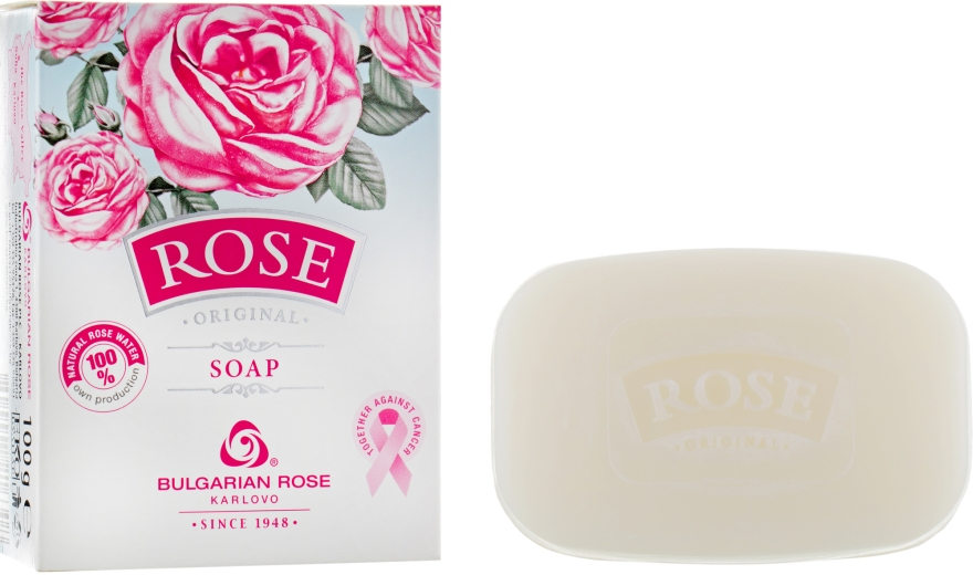 Sapone - Bulgarian Rose Rose Original Soap