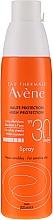 Profumi e cosmetici Spray protezione solare per pelli sensibili SPF30 - Avene Solaires Haute Protection Spray SPF 30