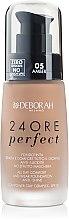 Profumi e cosmetici Fondotinta ad azione prolungata - Deborah 24Ore Perfect Foundation