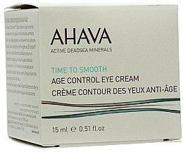 Profumi e cosmetici Crema anti-età per la pelle intorno agli occhi - Ahava Age Control Eye Cream