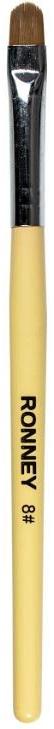 Pennello per nail art, RN 00444 - Ronney Professional Gel Brush №8
