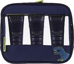 Profumi e cosmetici Set - Baylis & Harding Men's Citrus Lime & Mint Bag(hair/body/wash/100ml+face/wash/100ml+a/sh/balm/100ml+acc)