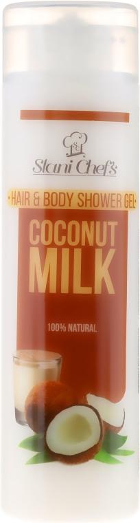 Gel doccia per capelli e corpo - Hristina Stani Chef's Hair And Body Shower Gel Coconut Milk — foto N1