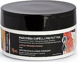 Profumi e cosmetici Maschera protettiva per capelli - Bio Happy Jungle Infusion Protective Hair Mask