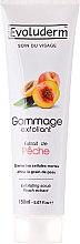 Profumi e cosmetici Scrub viso con estratto di albicocca - Evoluderm Soin du Visage Exfoliating Scrub Peach Extract