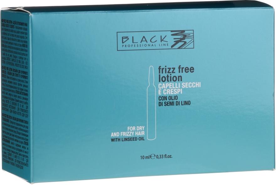 Fiale per lisciare i capelli birichini e ricci - Black Professional Line Anti-Frizz — foto N1