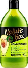 Profumi e cosmetici Balsamo capelli con olio di avocado - Nature Box Avocado Oil Conditioner