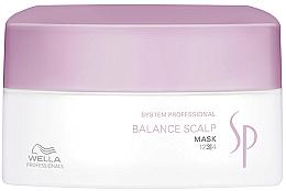 Profumi e cosmetici Maschera per cuoio capelluto sensibile - Wella SP Balance Scalp Mask