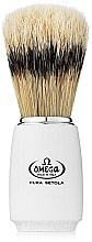 Profumi e cosmetici Pennello da barba, 11711, cream - Omega
