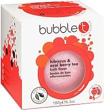 """Profumi e cosmetici Bomba da bagno """"Ibisco e bacche di acai"""" - Bubble T Bath Fizzer Hibiscus & Acai Berry"""