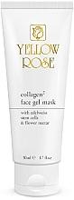 Profumi e cosmetici Maschera in gel al collagene - Yellow Rose Collagen2 Gel Mask