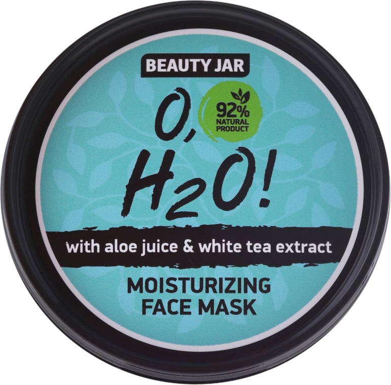 Maschera viso idratante - Beauty Jar O,H2O Moisturizing Face Mask