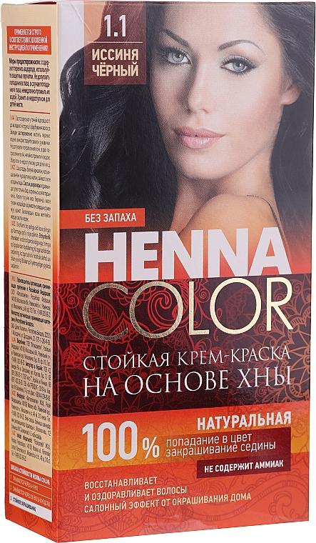 Tinta-crema con hennè per capelli - Fitocosmetica Henna Color