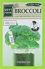 "Profumi e cosmetici Maschera in tessuto ""Broccoli"" - Mediental Botanic Garden Mask"