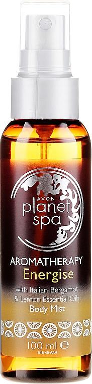 Spray corpo con bergamotto e limone - Avon Aromatherapy Energise Body Mist