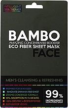 Profumi e cosmetici Maschera rinfrescante con sale marino ed estratto di bambù - Beauty Face Cleansing & Refreshing Compress Mask For Man