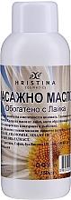 Profumi e cosmetici Olio da massaggio alla camomilla - Hristina Cosmetics Chamomile Massage Oil