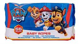 Profumi e cosmetici Salviettine umidificate, 56 pezzi - Nickelodeon Paw Patrol Baby Wipes