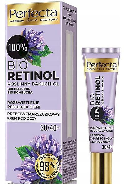 Crema contorno occhi antirughe 30 + / 40 + - Perfecta Bio Retinol 30+/40+ Eye Cream