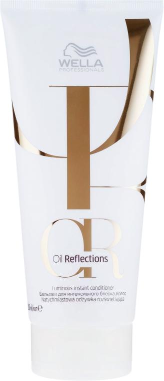 Balsamo per capelli - Wella Professionals Oil Reflections Luminous Instant Conditioner