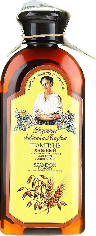 Shampoo con estratto di grano - Ricette di nonna Agafya