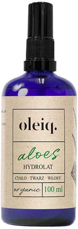Idrolato aloe per viso, corpo e capelli - Oleiq Hydrolat Aloe