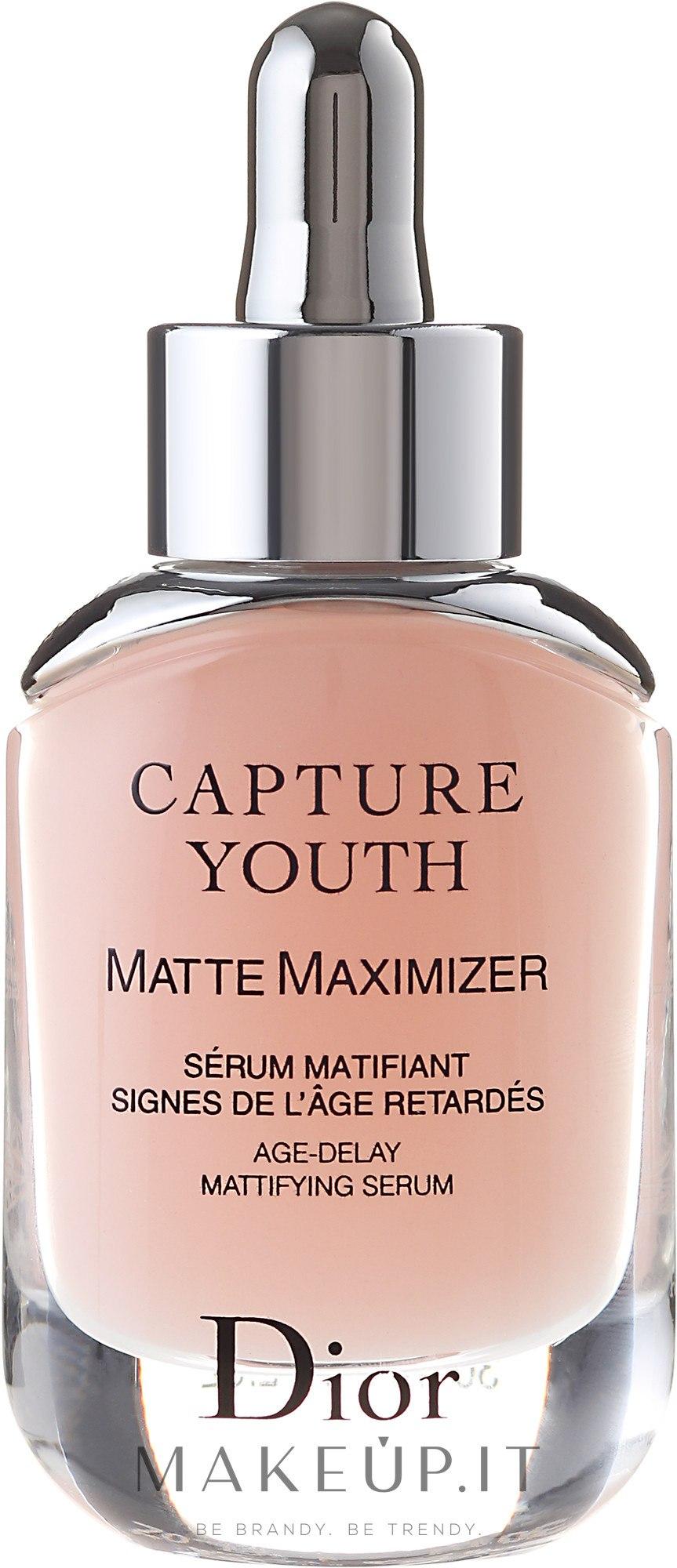 Siero viso anti-età opacizzante - Dior Capture Youth Matte Maximizer — foto 30 ml
