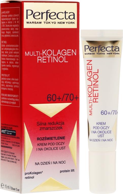 Crema contorno occhi - Dax Cosmetics Perfecta Multi-Collagen Retinol Eye Cream 60+/70+