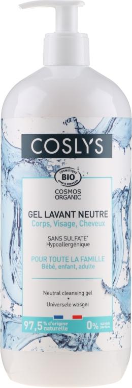 Gel universale viso, mani, corpo e capelli (per neonati, bambini e adulti) - Coslys Universal Cleansing Gel