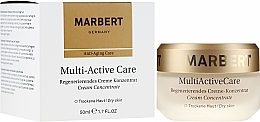 Profumi e cosmetici Crema rivitalizzante concentrata - Marbert Anti-Aging Care MultiActive Care Regenerating Cream Concentrate