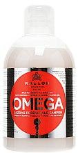 Profumi e cosmetici Shampoo rigenerante con complesso di omega-6 e olio di macadamia - Kallos Cosmetics Omega Hair Shampoo