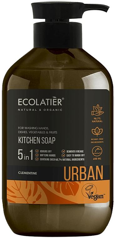 """Sapone liquido per la cucina """"Clementine"""" - Ecolatier Urban Liquid Soap"""