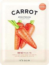 Profumi e cosmetici Maschera in tessuto idratante con carote - It's Skin The Fresh Carrot Mask Sheet