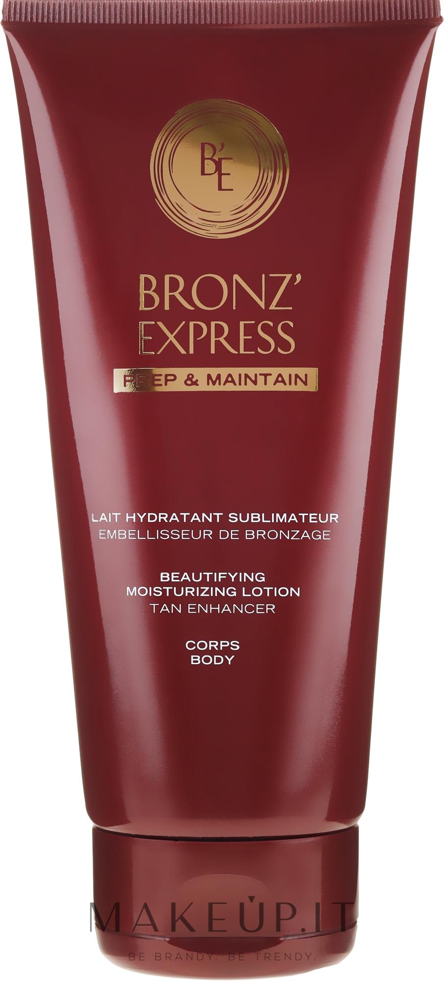 Lozione corpo idratante - Academie Bronze Express Beautifying Moisturizing Lotion — foto 200 ml